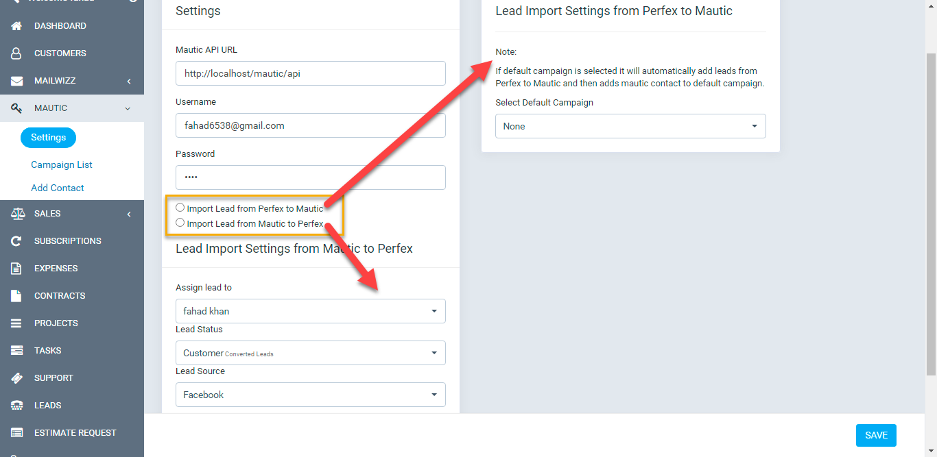 Mautic - Automated Marketing Tool For Perfex CRM - 4